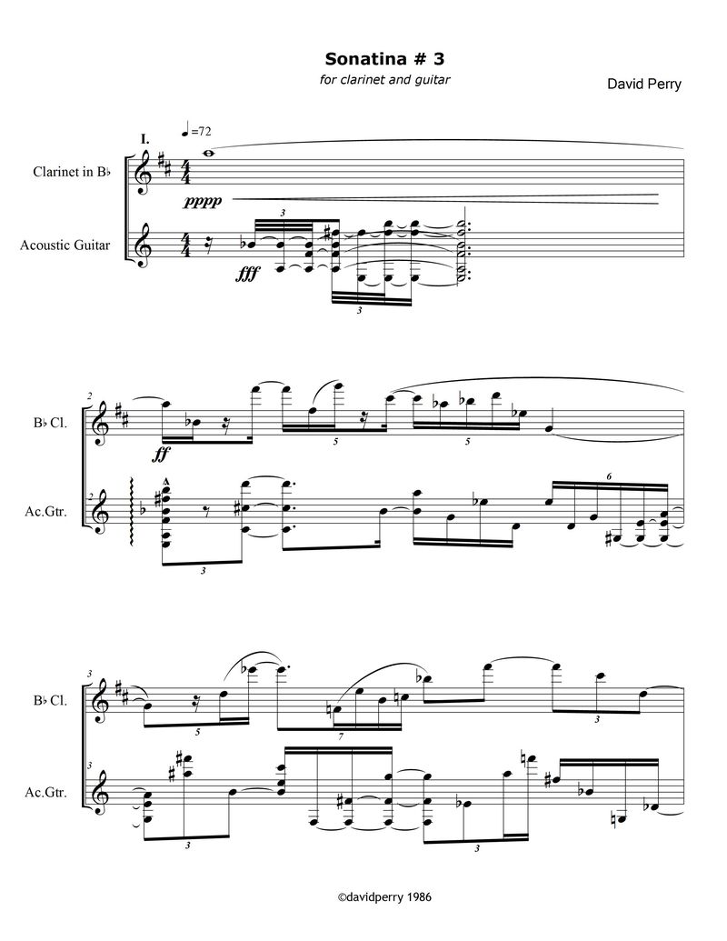 Sonatina#3 screen shot